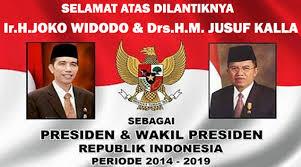 selamat Jokowi-jk