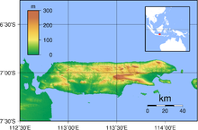 Topografi Peta Madura