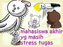gambar-lucu-line-mahasiswa-stress